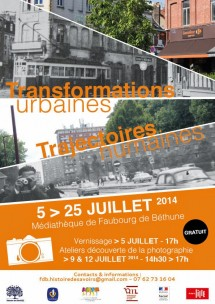 Transformations urbaines, trajectoires humaines - HdS - juillet 2014