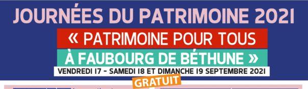 Journées européennes du Patrimoine - Édition 2021