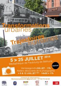 Transformations urbaines, trajectoires humaines - HdS - juillet 2014